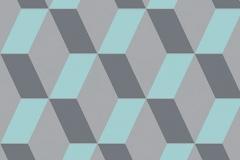 Cubic Bright Blue