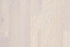 Oak Chalk White 3 Strip