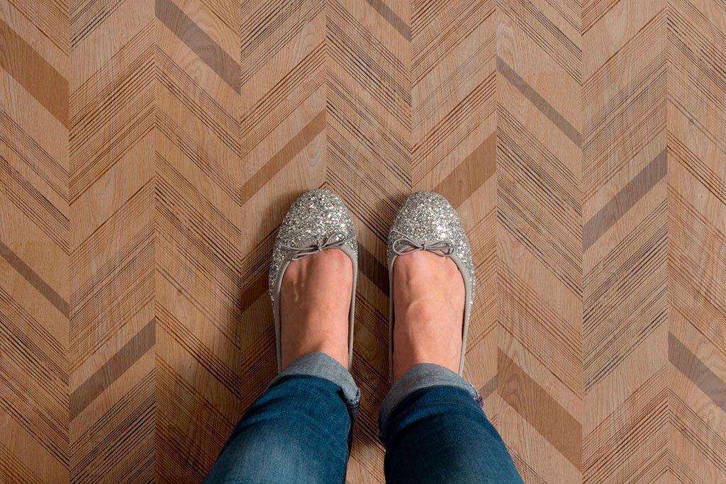 suelo vinílico acústico taralay comfort